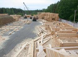 Изготовление срубов домов